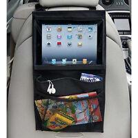 Asiento de coche para bebés colgantes Almacenamiento bolsos portátiles para iPad