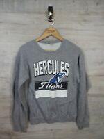 vtg 90s 00s Hercules Titans  spellout sweatshirt sweater jumper refA19 small