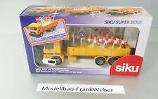 2610 Lkw mit Verkehrszeichen  1:55  Siku 1 :  55 Super 1/55
