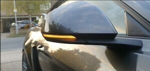 2015-2021 Mustang Sequential Mirror Indicators Tinted