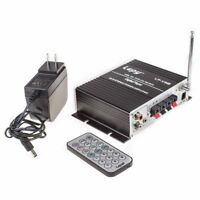 Lepy LP-V9S Hi-Fi stereo power digital amplifier with USB SD DVD CD FM MP3 W 3A