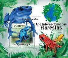 Mozambique - Frogs on Stamps - Stamp Souvenir Sheet 13A-571