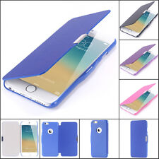 Ultra thin magnetic flip leather case for IPhone 4 4s and 5 5s