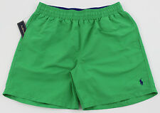 Men's POLO RALPH LAUREN Kelly Green Swimsuit Trunks L Large NWT NEW 4103168