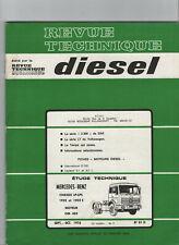 REVUE TECHNIQUE Diesel Mercedes benz LP LPS 1932 1932S OM 403 RTD camion