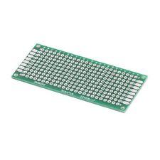 5PCS 3x7cm 30mmx70mm FR4 Prototype Breadboard Double Side Tinned PCB