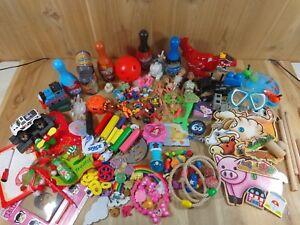Junk Drawer Lot 145 Pieces TOYS GAME PARTS Boys Girls Crafts Repurpose