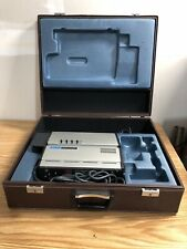 Vintage SONY AVC-3250 Television TV VIDEO CAMERA with CASE No Lens Untested
