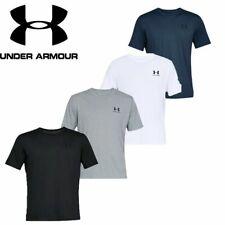 Under Armour Mens T Shirt Tshirt Sportstyle Gym Running Cotton Ua Top