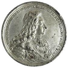 SAVOIA VITTORIO AMEDEO II Medaglia anno 1706 per la fine dell'assedio di Torino
