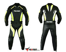 ProFirst Motorcycle Genuine Leather Suit Motorbike Full Suit with CE Armour NEW