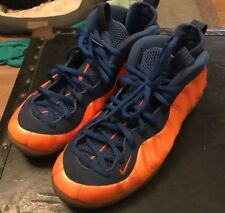 5b84b552d25 Nike Air Foamposite One Size 10 New York Knicks Colorway Clean