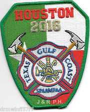 "Texas Gulf Chapter - S.P.A.A.M.F.A.A. Houston 2016  (3.25"" x 4"" size) fire patch"