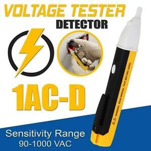 AC Electric Voltage Tester Volt Alert Pen Detector Sensor 90-1000V DX UK