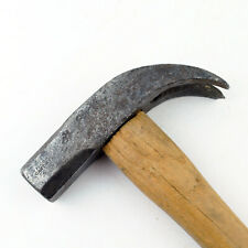 Antique / Vintage Hand Wrought Claw Hammer WILCOX & CO w/ Eagle TM 1842-51