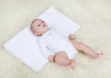 Baby-Kissen Baumwolle 0-12 Monate maschinenwaschbar f/ür Neugeborene und Kleinkinder vocheer 2-in-1-Kinderwagenkissen weich atmungsaktiv Kopf- und K/örperst/ützkissen