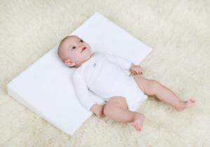 Keilkissen Baby Reflux Stützkissen Kopfkissen Bett Kinderwagen Wiege