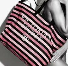 NWT VICTORIA'S SECRET LIMITED EDITION 2016 STRIPE WEEKENDER Travel Tote Bag