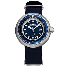Zeno Men's Deep Diver Blue Dial Blue Fabric Strap Automatic Watch 500-2824-I4