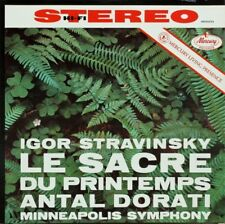 Igor Stravinsky-Le sacre du printemps (le sacre du printemps) Vinyl LP (Mercure)