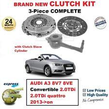Para Audi A3 Descapotable 2.0TDi Quattro 2013- > en Adelante Nuevo 3 Piezas Kit
