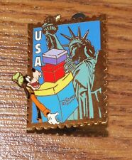 Genuine Walt Disney Goofy New York Usa Disney Store Stamp Collectible Pin! Read