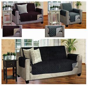 Wende Schonbezug 1-/2-/3-Sitzer Sesselschoner Sofaschoner Couch Überwurf Typ646