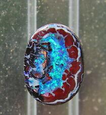 *~Edelopal Boulder-opal~* Cabochon Wunderschöne Starke Farbe!!!