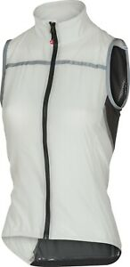 Castelli Superleggera Women's Cycling Vest White Size Small : SUPER LIGHT