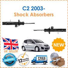 Para Citroen C2 1.1 1.4 1.6 2003-dos bolsillos Amortiguadores De Gas Set Par x2 Nuevo