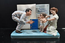 Norman Rockwell Museum Figurine Baby's First Step 1979
