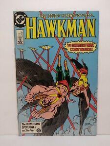 Hawkman 1 1986 series #1 DC Comics Copper Age Hawkwoman 1 Justice League