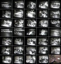16mm Film aus 1960.Jahre-Fabrik Arbeiter-Akord-Angestellte 2 Filme aus der Fabri