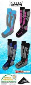 Toptex Sportline Ski & Snowboard Socks NWT Fits 4.5-8 Unisex Black &Gray&Green