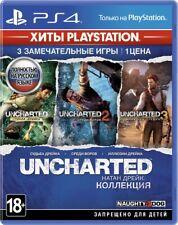 Uncharted: The Nathan Drake Collection (PS4) Russian,English,Polish version