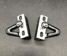 VINTAGE CAMPAGNOLO SUPER RECORD BRAKE PAD BLOCK SHOES ALUMINIUM SET OF TWO NOS