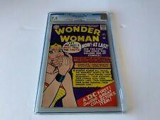 WONDER WOMAN 159 CGC 7.5 ORIGIN RETOLD GOLDEN AGE STYLE STORIES DC COMICS 1966