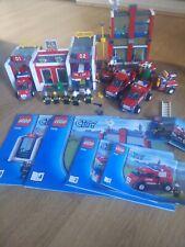 Lego City Fire Station 7208 Plus 7241 & 7942