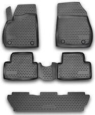 Opel Zafira Tourer 12- Gummimatten Gummi Fußmatten 5-teilig 3D Schalen Passform
