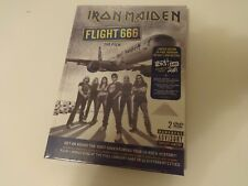 Iron Maiden - Flight 666: The Film 2DVD Limited Edition Deluxe hardback book new