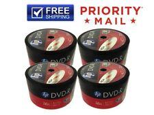 FREE PRIORITY SHIPPING!!! 200-Pack HP 16X Logo DVD-R Blank Disc 4.7GB Bulk Pack