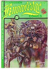 FORBIDDEN KNOWLEDGE COMICS #1 1975 1st Print ROBERT WILLIAMS Underground Comix
