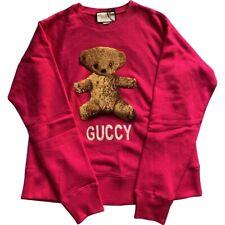Gucci TeddyBear  100% authentic  sweatshirt. XXL.