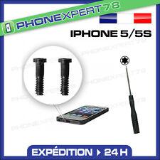 KIT de 2 Vis pour IPHONE 5 ET 5S VIS DU BAS + Tournevis TORX