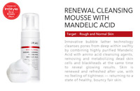 """Dr. Wu Renewal Cleansing Mousse With Mandelic Acid 160ml """" New & Free Shipping """""""
