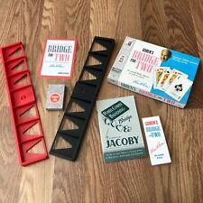Vintage Milton Bradley BRIDGE FOR TWO Goren's 1964 w/ Jacoby Guide to Bidding
