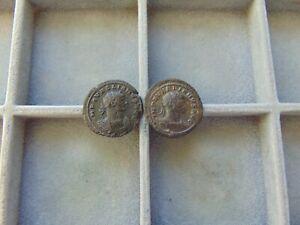 2 pieces Roman Empire AURELIAN Antoninianus LOT! 25mm