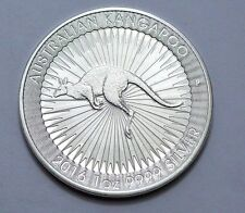 2016 Silver Australian Kangaroo $1 Dollar Bullion Coin 1 oz Silver Perth Mint !