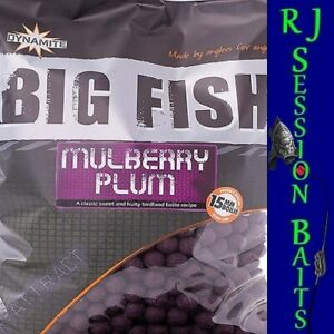 Dynamite Baits Mulberry Plum 15mm Session Pack of 25 Boilies