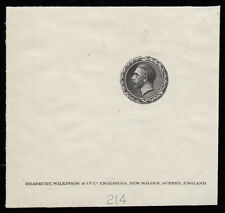 SG438 c. 1929 Bradbury Wilkinson; Harrison engraved head with Laurel leaf sur...